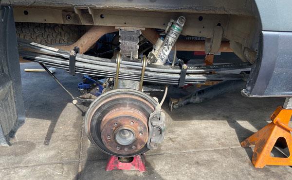 Van Supension Repair