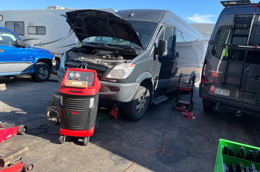 Van RV Diagnostics in Denver