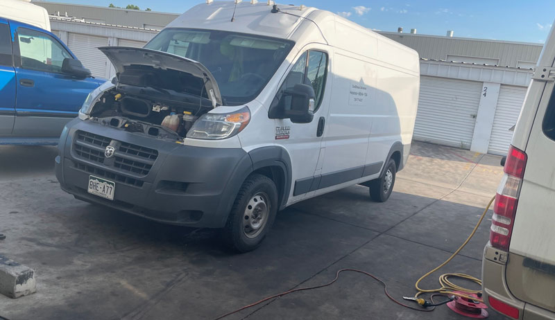 Van mechanic Denver